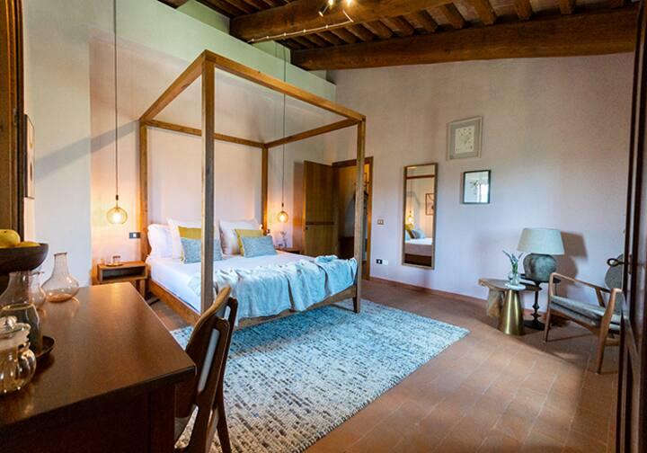 Rosa Double room 40m2@Borgo Castello Panicaglia