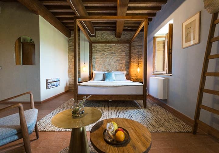 Tobia Double Room 30m2@Borgo Castello Panicaglia