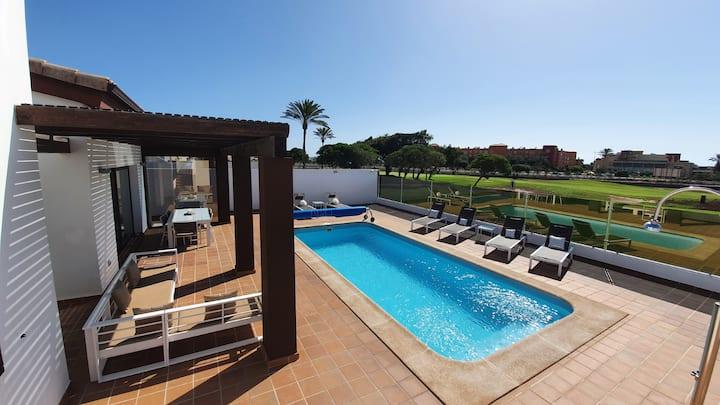 VILLA BELLA-Golf C-Caleta de Fuste-Fuerteventura