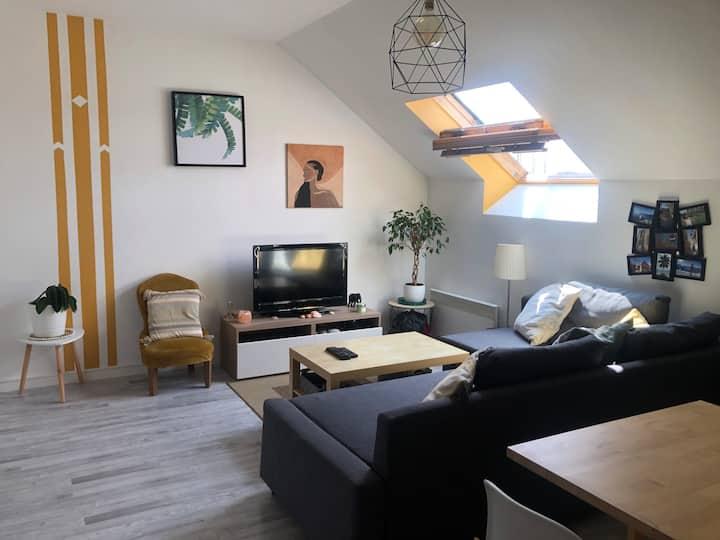 Appartement calme et idéalement situé