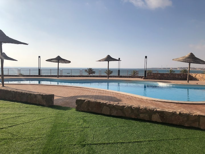 Chalet with sea view in Ain Sokhna