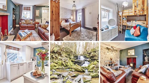 Waterfall Cottage - wild gardens & treehouse beds