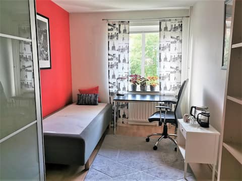 A room in East-Center part of Gothenburg