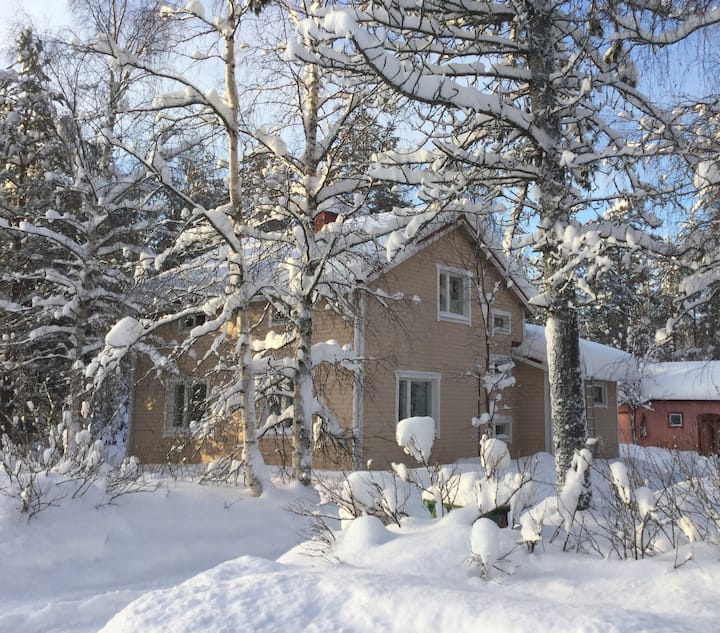 Villa Hanna, Detached House in Hyrynsalmi