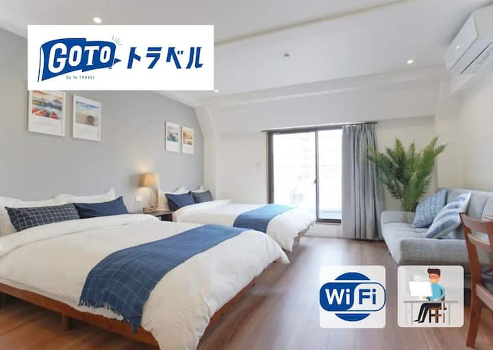 Ueno/Akihabara★ Long-term discount★Wi-Fi★ 4F