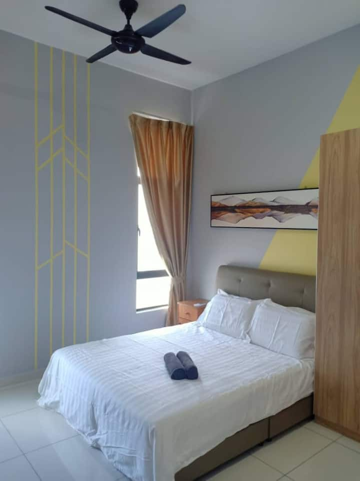 NEW! Stylish and Modern 1BR HomeStay johor