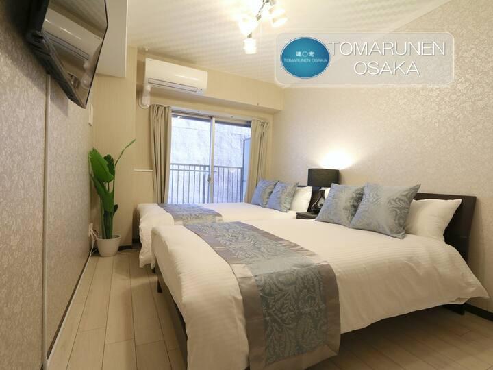SS Modern Condo, Comfy&Cozy 3 mins to Dotonburi