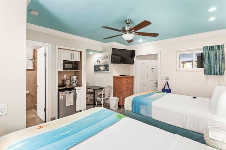 Standard Room: 2 Double Beds