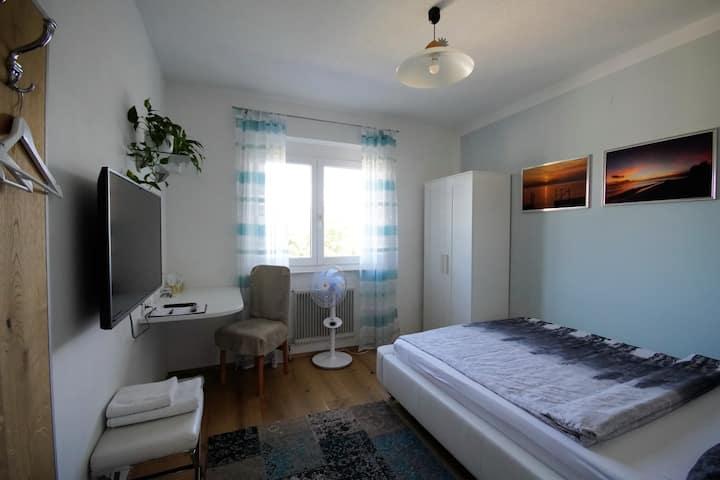 Wohlfühlzimmer in ruhiger Lage