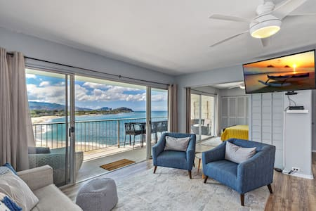 Two Bedrooms overlooking the magical MAKAHA BEACH