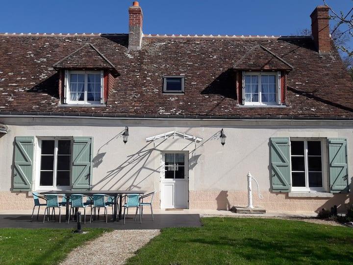 La Longère du Lavoir, gîte Touraine Loire Valley