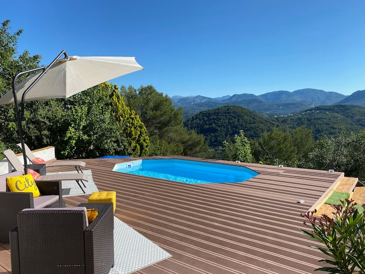 Harmony, 2 rooms, 40 m2, between Nice and Monaco!