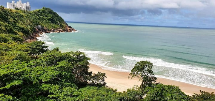 TOMBO BEACH  GUARUJÁ - FOOT ON THE SAND