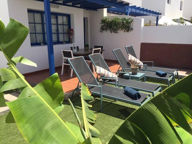 Villa Izare, acogedora estancia con jardin privado