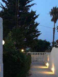 Viale di accesso e tutto il perimetro della villa sono illuminati automaticamente con sistema crepuscolare