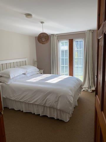 Bedroom 1.  Double bedroom
