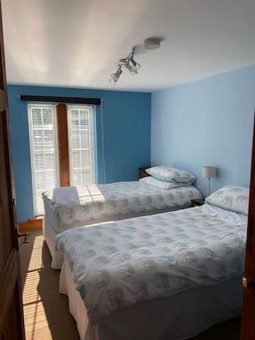 Bedroom 2.  Twin bedroom.