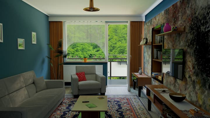 ForestView Apartment