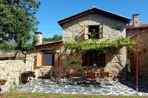 Casita Naranja - Casa rural en Ribeira Sacra