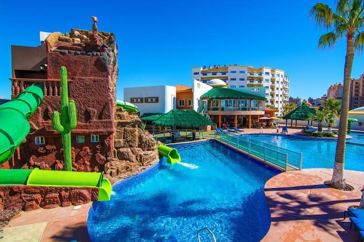Beautiful Las Palmas, Mexico Condo 1bdrm Sleeps 4