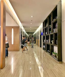 SMDC Green Residences has 54 floors, owned and developed by the largest property development in the Philippines. All floors are well-lit, well-maintained.