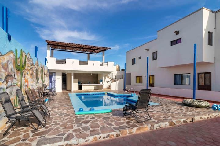 2 Bedroom Near Beach Apt 4 Posada Espiritu Del Mar