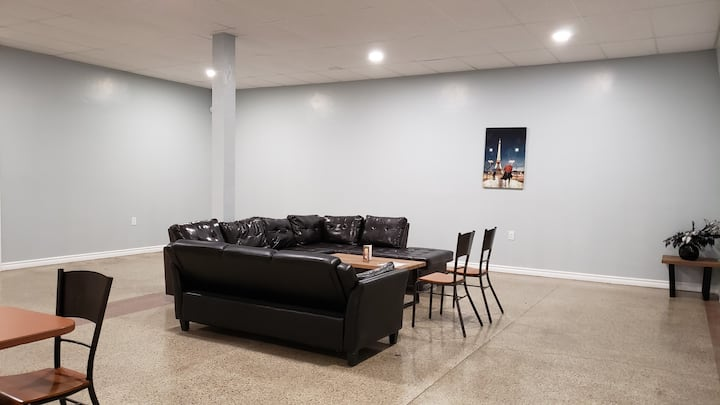 SMALL GROUP WANTS THEIR OWN SPACE