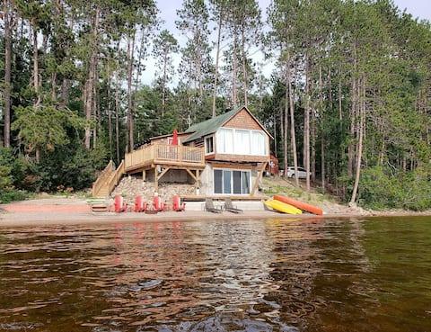 The Beach Cabin Roundlake Algonquin Sand Beach