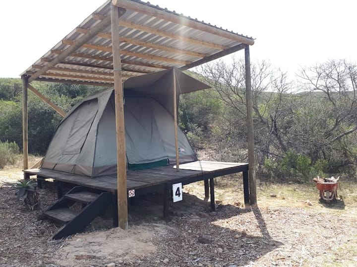 Permanent Furnished Tent (Sleeps 2)