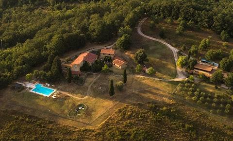 Appartamento con Piscina Dolce Toscana