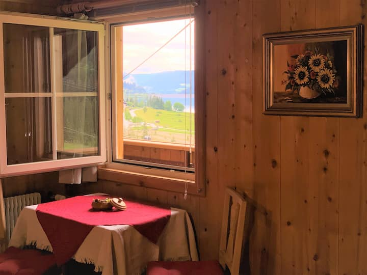 Ferienhaus Helga: Seeblick am Wanderweg