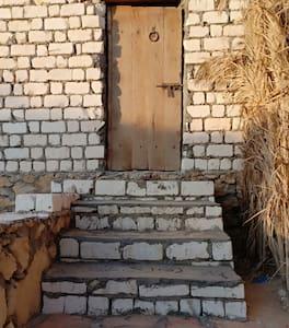 مدخل عرض اكبر من 90سم الخشب من أشجار النخيل