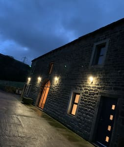 We have lights all around Top Barn to allow easy parking, and access during the darkness hours. This is especially usefully for unloading both belongings and shopping for your stay.