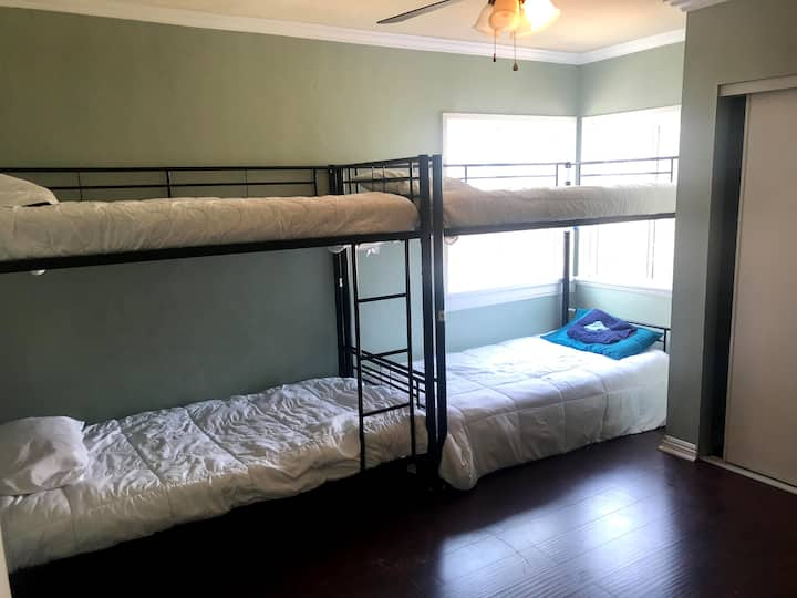Unisex Bunked Space - TOP BUNK #1