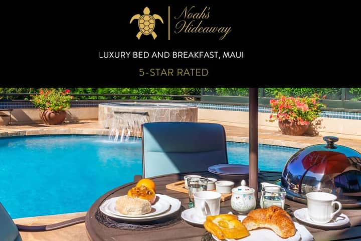 Noah's Hideaway Maui, Luxury B&B, walk to beach!