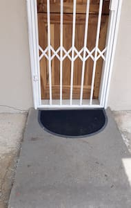 accessible entrance, unit is on the ground floor and stand alone