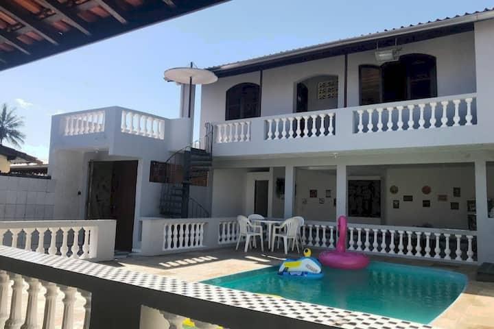 Casa em Caraguatatuba 4 quartos + piscina