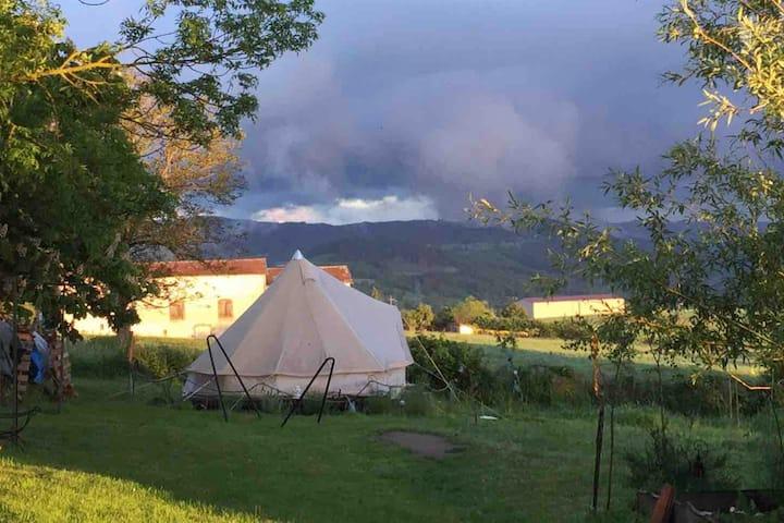 Chambre Insolite : Tente Inuit