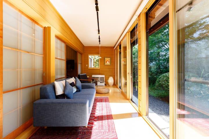 MORIHAKU 「YUKINOSHITA」villa No Smoking