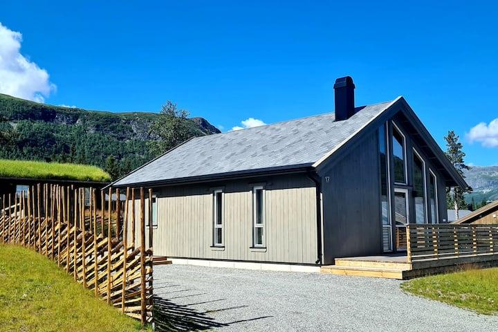 NY Slettefjell hytte like ved alpinbakke og utmark
