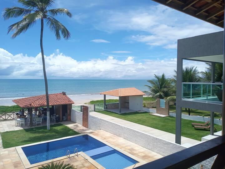 Linda Casa a Beira Mar de Pitimbú