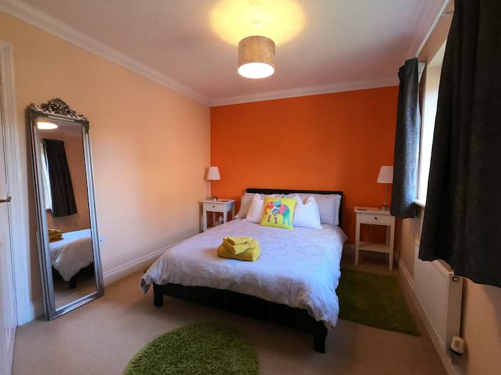 Double room + en-suite in Newburn, Newcastle.