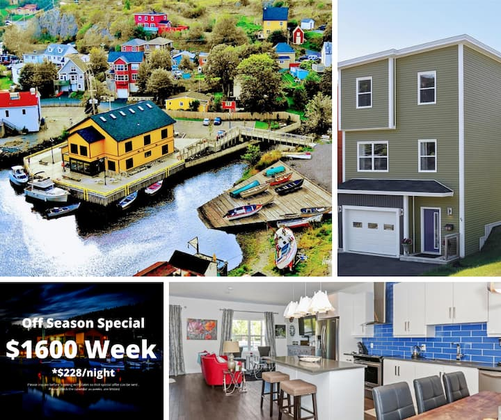 Luxury Home in Picturesque Quidi Vidi Village!