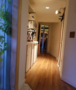 Wide Private Hallway