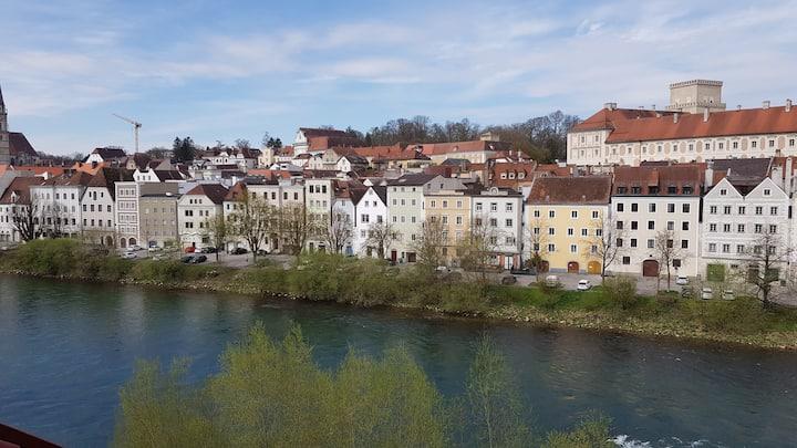 Stadtwohnung mit Schlossblick