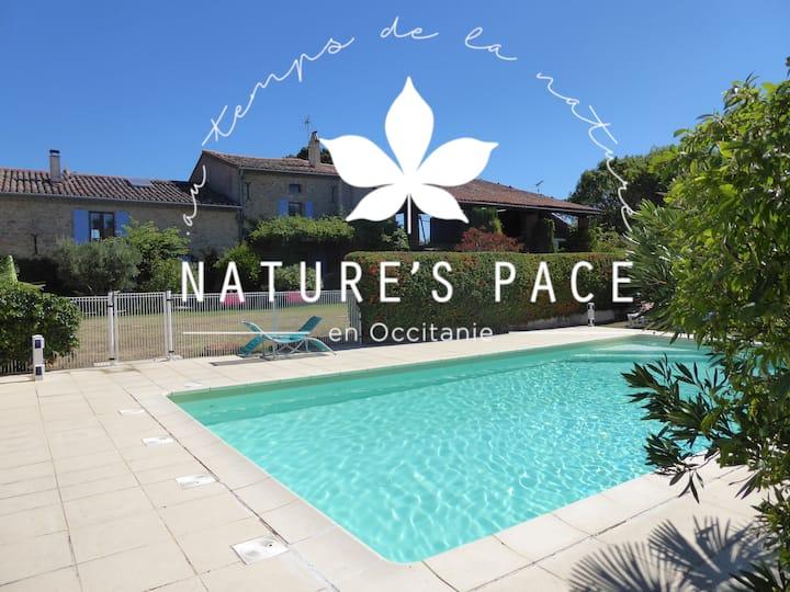 Nature's Pace Holidays -  Corbières Gite