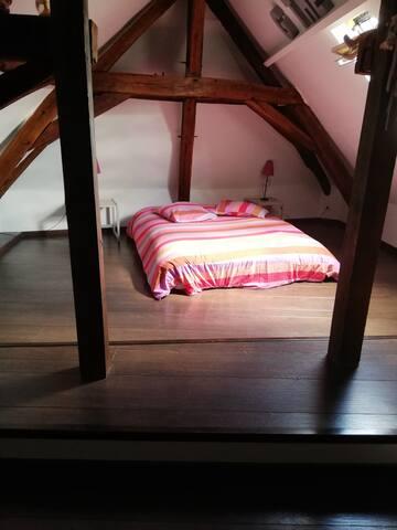 Chambre 3 avec climatisation,  lit de 140