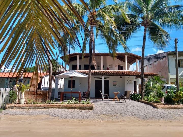 Excelente casa beira-mar em Maragogi. Casa térrea