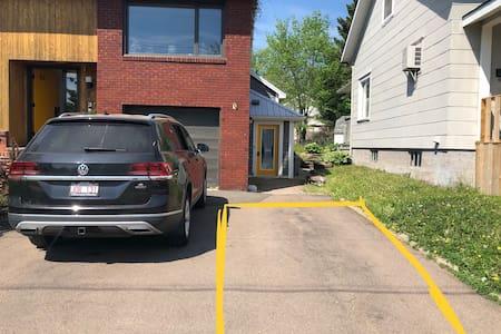 Miejsce parkingowe dla osób niepełnosprawnych
