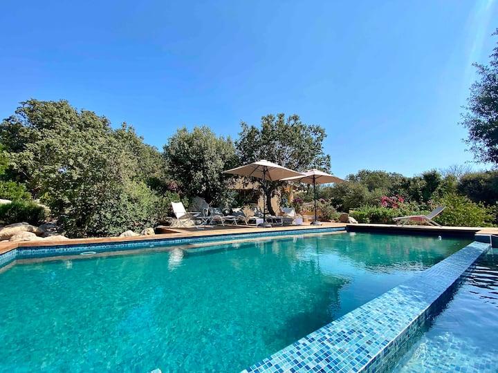 Domaine de Cala Rossa 4ch piscine proche plage